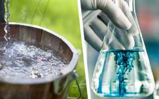 Анализ воды из колодца: показатели качества, сбор проб, периодичность и цена
