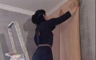 Как клеить флизелиновые обои на бетон: рассмотрим подробно