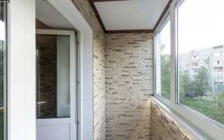 Внутренняя отделка балконов и лоджий: как и из чего сделать
