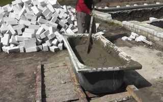Изготавливаем бетон в домашних условиях из цемента марки ПЦ 500 ДО