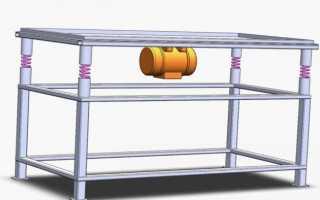 Как сделать вибростол: строительные чертежи и пошаговая инструкция