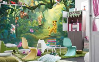 Выбираем фотообои сказочные в интерьер детской комнаты