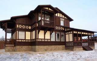 Как выполняется облицовка деревянного дома снаружи