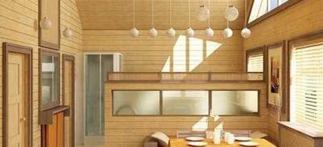 Внутренняя отделка дома из бруса: подбираем материал