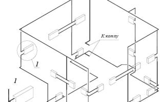 Отопление с верхней разводкой и розливом: системы и схемы
