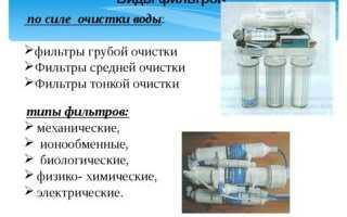 Фильтр для воды на дачу: классификация, рассмотрение популярных и рекомендации по выбору