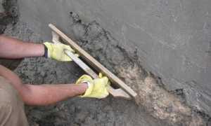 Как выполняется штукатурка погреба своими руками