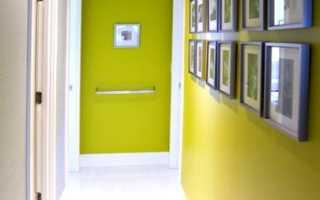 Какой выбрать цвет в коридоре стен