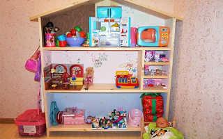 Кукольный домик своими руками (70 фото): варианты из фанеры, дерева, ящиков, чертежи с размерами