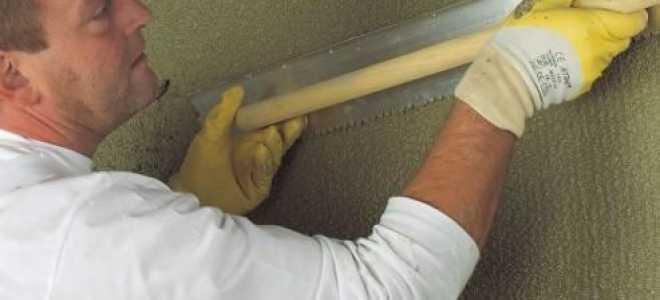 Как выполняется штукатурка стен цементным раствором