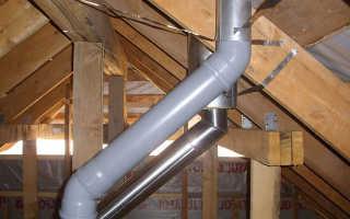 Вентиляция в частном доме из пластиковых труб с фото