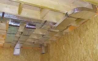 Вентиляция в каркасном доме своими руками: схемы, устройство
