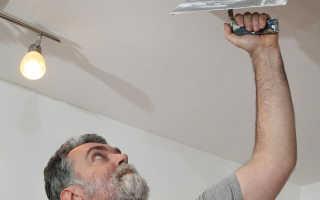 Как выполняется шпаклевка потолка под покраску