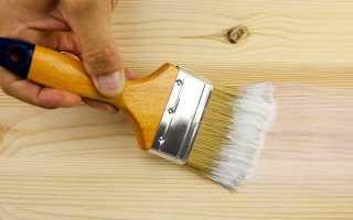 Грунтовка для дерева: правила использования