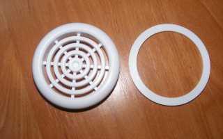 Вентиляция потолков: натяжного, реечного, подвесного