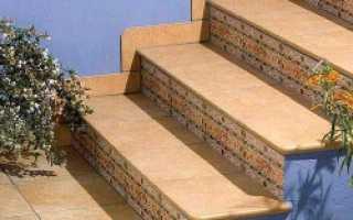 Отделка кафелем лестницы своими руками