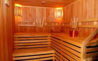 Отделка бани изнутри: способы и материалы