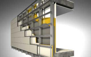 Навесные вентилируемые фасады: преимущества, характеристики, свойства