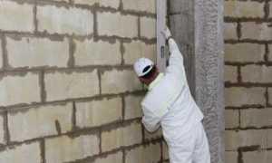 Внутренняя штукатурка стен из газобетона своими руками