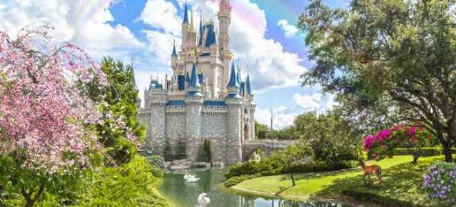 Красивый замок фотообои в нашем интерьере