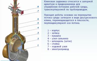 Водопроводная задвижка: назначение, принцип работы, особенности установки и цена