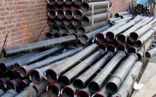 Чугунные трубы для водопровода: нормативы, технические характеристики, монтаж и цена