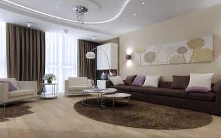 Какой лучше выбрать цвет стен в гостиной для оформления