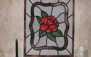Какие можно нарисовать рисунки витражными красками
