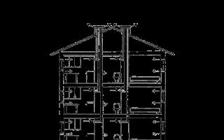 Вентиляция в хрущевке: схемы и планы системы
