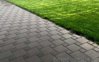 Три способа укладки брусчатки на бетонное основание