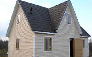 Рассмотрим варианты отделки домов сайдингом