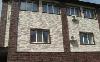 Как выполняется облицовка фасада дома под кирпич и камень