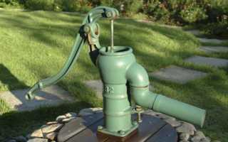 Ручной насос для скважины: назначение, виды, критерии выбора и установка
