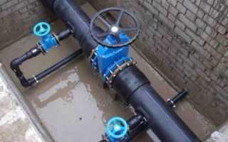 Монтаж наружных сетей водопровода и канализации: требования, этапы и цена за метр