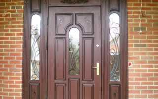 Отделка входных дверей: делаем своими руками