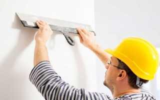 Как выполняется выравнивание стен шпаклевкой