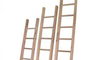 Как сделать деревянную приставную лестницу своими руками: чертежи, инструкция, подбор конструкции