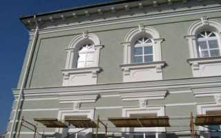 Штукатурка финишная фасада дома