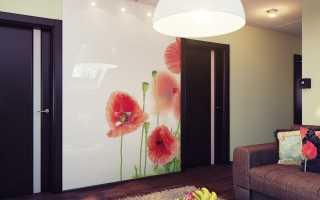 Маки: фотообои в интерьере дома
